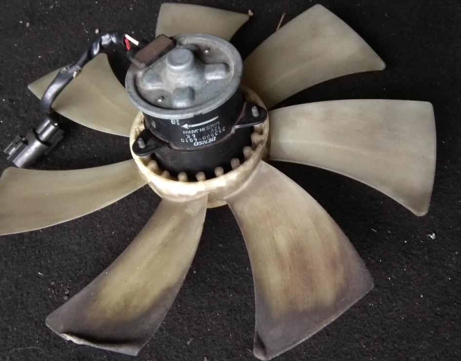 Вентилятор охлаждения радиатора основной