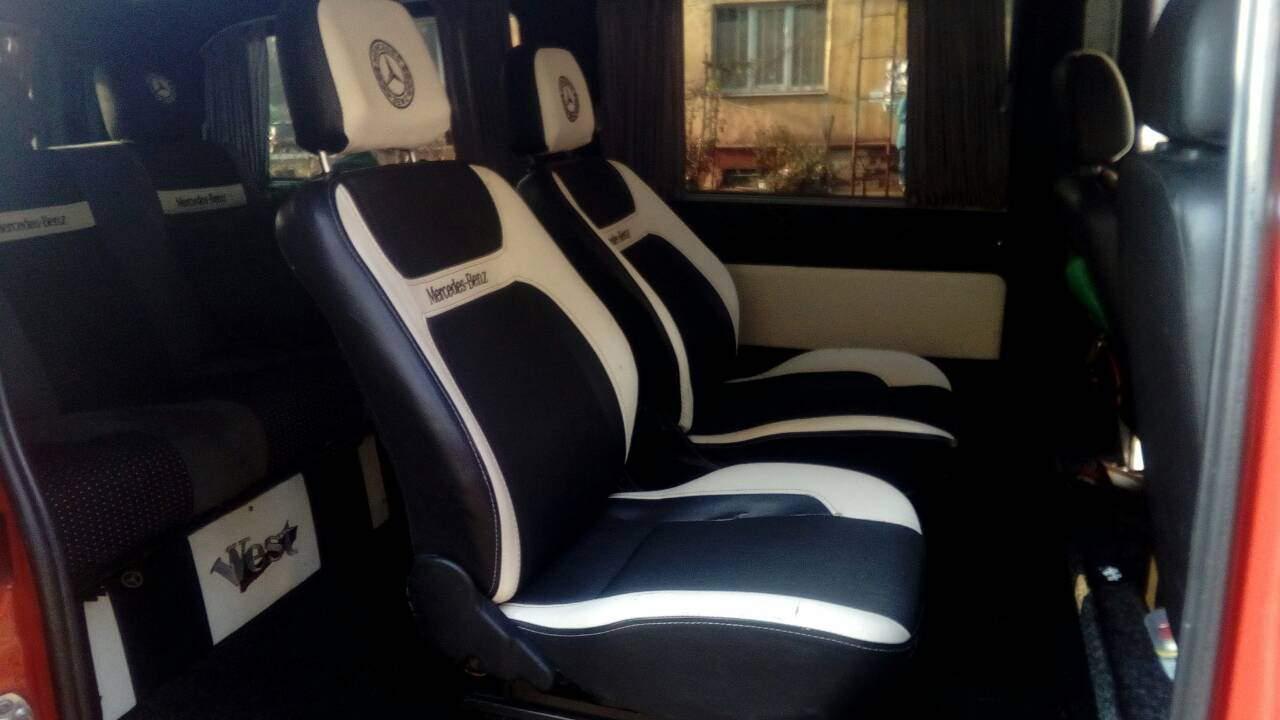 Сиденья с Mercedes Vito водительский ряд и средний ряд пассажирский